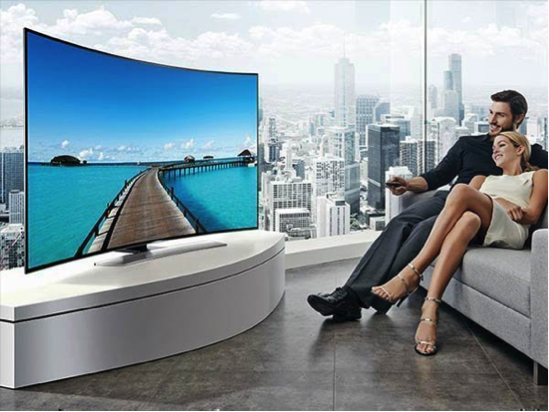 choosing a tv - curved or flat tv