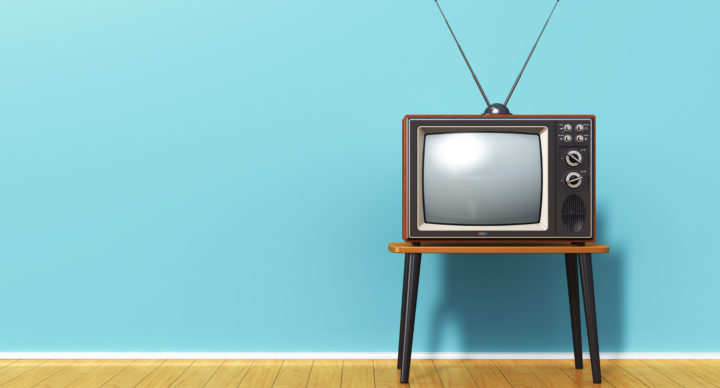 tv with aerial