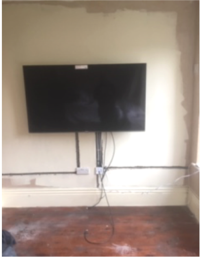 advice on wall mounting TV